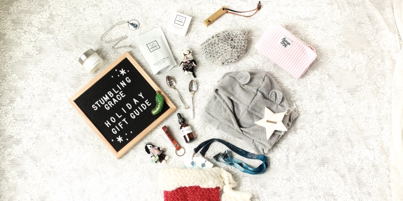 Stumbling Grace Holiday Gift Guide