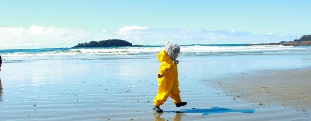 Ez on the beach
